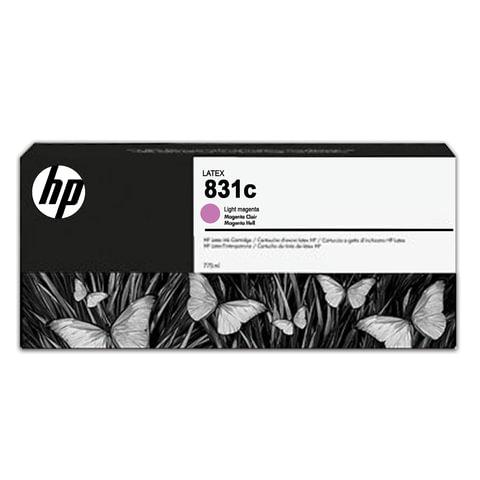 Картридж струйный для плоттера HP (CZ699A) HP Latex 310/<wbr/>330/<wbr/>360/<wbr/>370 №831c, светло-пурпурный, 775 мл, оригинальный