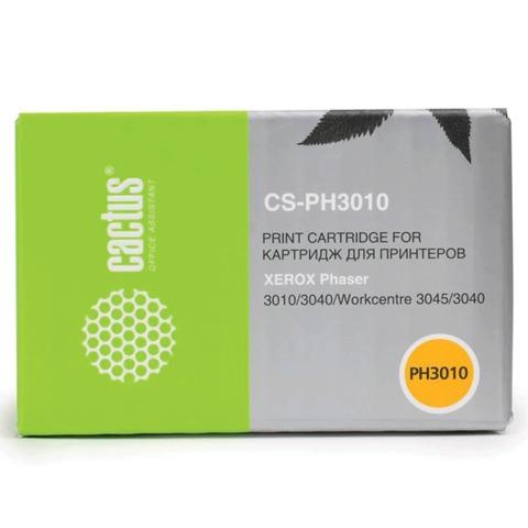 Картридж лазерный XEROX (106R02181) Phaser 3010/<wbr/>WC3045, черный, ресурс 1000 стр., CACTUS совместимый