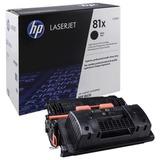 Картридж лазерный HP (CF281X) LaserJet M605/<wbr/>M606/<wbr/>M630 и другие, №81X, оригинальный, увеличенный ресурс 25000 стр.