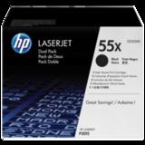 Картридж лазерный HP (CE255XD) LaserJet M525dn/<wbr/>M521dn/<wbr/>P3015 и другие, комплект 2 шт., оригинальный, ресурс 2×135000 стр.