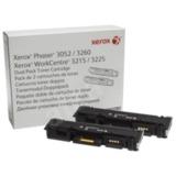 Картридж лазерный XEROX (106R02782) Phaser 3052/<wbr/>WC3215 и другие, черный, оригинальный, комплект — 2 шт., ресурс 2×3000 стр.