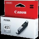 Картридж струйный CANON (CLI-451GY) iP7240/<wbr/>MG5440/<wbr/>MG6340, серый, оригинальный, ресурс 780 страниц