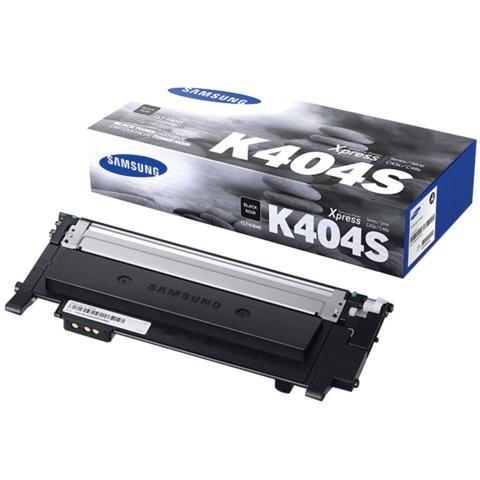 Картридж лазерный SAMSUNG (CLT-K404S) SL-C430/<wbr/>C430W/<wbr/>C480/<wbr/>C480W и другие, оригинальный, черный, ресурс 1500 страниц