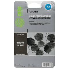Картридж струйный для плоттера HP (C9370A) Designjet T610/<wbr/>795 и другие, черный фото, 130 мл, CACTUS совместимый