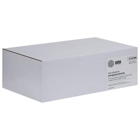 Картридж лазерный HP (CE278AF) LaserJet P1566/1606DN, комплект 2 шт., ресурс 2х2100 стр., CACTUS совместимый