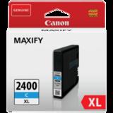 Картридж струйный CANON (PGI-2400XLС) iB4040/<wbr/>MB5040/<wbr/>MB5340, голубой, оригинальный, ресурс 1500 стр.