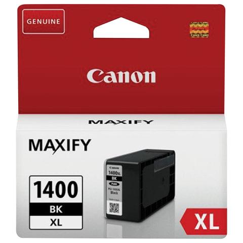 Картридж струйный CANON (PGI-1400XLВК) МВ2040/<wbr/>МВ2340, черный, оригинальный, ресурс 1200 стр.