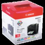 Картридж струйный CANON (PGI-2400XL BK/<wbr/>C/M/<wbr/>Y) iB4040/<wbr/>MB5040/<wbr/>MB5340, комплект, оригинальный, 4 цвета