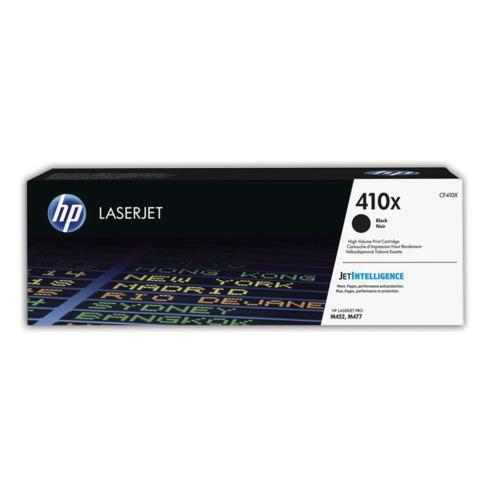Картридж лазерный HP (CF410X) LaserJet Pro M477fdn/M477fdw/477fnw/M452dn/M452nw, черный, оригинальный, 6500 стр.