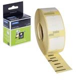Картридж для принтеров этикеток DYMO Label Writer, этикетка 25×13 мм, в рулоне, 1000 шт./<wbr/>рулоне, удаляемые, белые