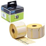 Картридж для принтеров этикеток DYMO Label Writer, этикетка 57×32 мм, в рулоне, 1000 шт./<wbr/>рулоне, удаляемые, белые