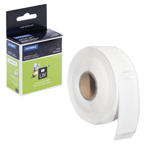 Картридж для принтеров этикеток DYMO Label Writer, этикетка 51х19 мм, в рулоне, 500 шт./рулоне, удаляемые, белые