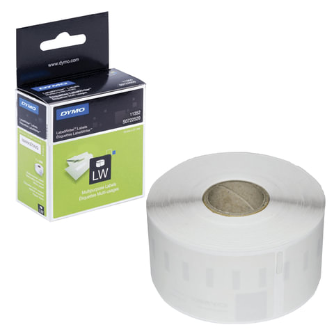 Картридж для принтеров этикеток DYMO Label Writer, этикетка 54х25 мм, в рулоне, 500 шт./рулоне, белые