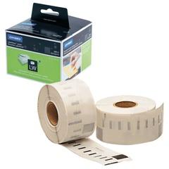 Картридж для принтеров этикеток DYMO Label Writer, этикетка 36×89 мм, в рулоне, 260 шт./<wbr/>рулоне, прозрачные, пластик
