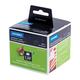 Картридж для принтеров этикеток DYMO Label Writer, этикетка 101×54 мм, в рулоне, 220 шт./<wbr/>рулоне, белые