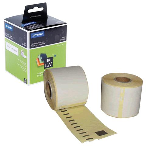 Картридж для принтеров этикеток DYMO Label Writer, этикетка 190х59 мм, в рулоне, 110 шт./рулоне, для папок-регистраторов