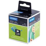 Картридж для принтеров этикеток DYMO Label Writer, этикетка 50×12 мм, в рулоне, 220 шт./<wbr/>рулоне, белые