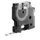 Картридж для принтеров этикеток DYMO Rhino, 9 мм х 5,5 м, лента полиэстерная, экстремальная температура, чёрный шрифт, металлик