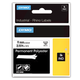 Картридж для принтеров этикеток DYMO Rhino, 9 мм х 5,5 м, лента полиэстерная, экстремальная температура, чёрный шрифт, белая