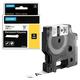 Картридж для принтеров этикеток DYMO Rhino, 12 мм х 5,5 м, лента полиэстерная, экстремальная температура, чёрный шрифт, белая