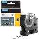 Картридж для принтеров этикеток DYMO Rhino, 19 мм х 3,5 м, лента нейлоновая, чёрный шрифт, неровная поверхность, белая