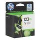Картридж струйный HP (F6V18AE) Deskjet 2130, №123XL, цветной, увеличенной ёмкости, оригинальный, ресурс 330 стр.