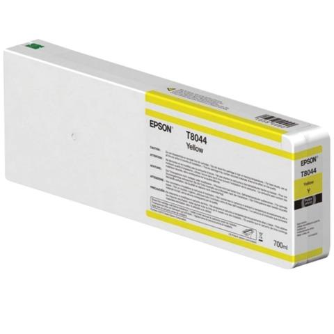 Картридж струйный для плоттера EPSON (C13T804400) SureColor SC-P6000, желтый, 700 мл, оригинальный