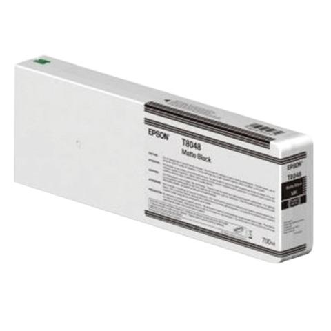 Картридж струйный для плоттера EPSON (C13T804800) SureColor SC-P6000, серый, для матовой бумаги, 700 мл, оригинальный
