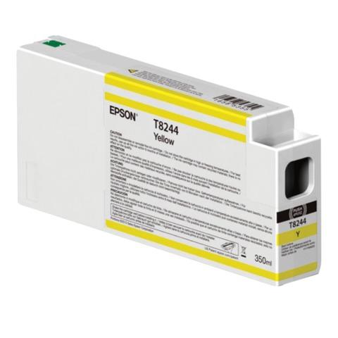 Картридж струйный для плоттера EPSON (C13T824400) SureColor SC-P6000, желтый, 350 мл, оригинальный