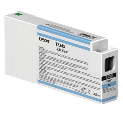Картридж струйный для плоттера EPSON (C13T824500) SureColor SC-P6000, светло-голубой, 350 мл, оригинальный