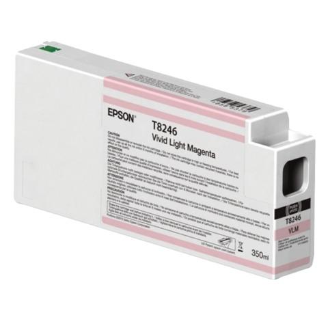 Картридж струйный для плоттера EPSON (C13T824600) SureColor SC-P6000, светло-пурпурный, 350 мл, оригинальный