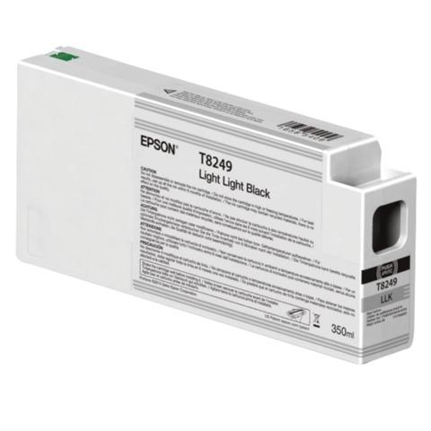 Картридж струйный для плоттера EPSON (C13T824900) SureColor SC-P6000, светло-серый, 350 мл, оригинальный