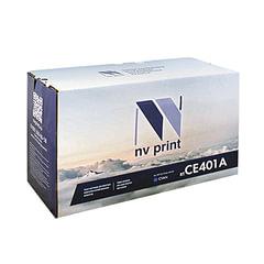 Картридж лазерный HP (CE401A) LaserJet Pro M570dn/<wbr/>M570dw, голубой, ресурс 6000 страниц, NV PRINT, СОВМЕСТИМЫЙ