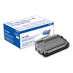 Картридж лазерный BROTHER (TN3480) HL-L5000D/<wbr/>5100DN/<wbr/>5200DW/<wbr/>6400DW\DCP-L6600 и другие, оригинальный, ресурс 8000 стр.