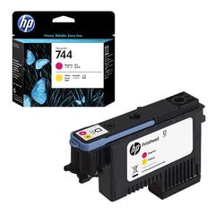 Головка печатающая для плоттера HP (F9J87A) Designjet Z2600/<wbr/>Z5600, №744, пурпурный/<wbr/>желтый, оригинальный
