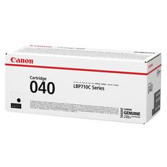 Картридж лазерный CANON (040BK) i-SENSYS LBP710Cx/<wbr/>LBP712Cx, оригинальный, черный, ресурс 6300 страниц