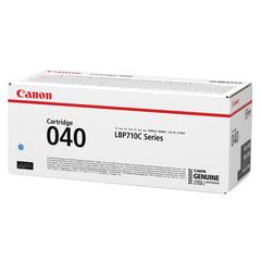 Картридж лазерный CANON (040С) i-SENSYS LBP710Cx/<wbr/>LBP712Cx, оригинальный, голубой, ресурс 5400 страниц