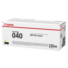 Картридж лазерный CANON (040Y) i-SENSYS LBP710Cx/<wbr/>LBP712Cx, оригинальный, желтый, ресурс 5400 страниц