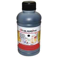 Чернила COLOURING для CANON /EPSON /HP /LEXMARK универсальные, черные, 0,25 л, водные