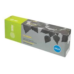Картридж лазерный HP (CB382A) ColorLaserJet CM6040/<wbr/>CM6030/<wbr/>CP6015, желтый, ресурс 21000 стр., CACTUS, совместимый