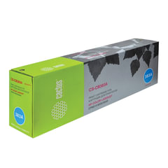 Картридж лазерный HP (CB383A) ColorLaserJet CM6040/<wbr/>CM6030/<wbr/>CP6015, пурпурный, ресурс 21000 стр., CACTUS, совместимый