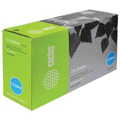 Картридж лазерный HP (CE264X) ColorLaserJet CM4540, черный, ресурс 17000 стр., CACTUS, совместимый