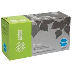 Картридж лазерный HP (Q7560A) ColorLaserJet 2700/<wbr/>3000, черный, ресурс 6500 стр., CACTUS, совместимый
