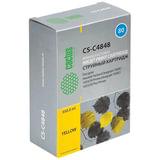 Картридж струйный HP (C4848A) DesignJet 1050C/<wbr/>1055CM, №80, желтый, CACTUS совместимый