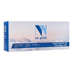 Картридж лазерный NV PRINT (NV-Q2612A/<wbr/>FX-10/<wbr/>703) для HP/<wbr/>CANON LaserJet/<wbr/>i-SENSYS, ресурс 2000 стр.