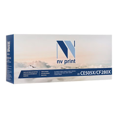 Картридж лазерный HP (CF280X/<wbr/>CE505X) LaserJet M401/<wbr/>M425/<wbr/>P2055, ресурс 6900 стр., NV PRINT, совместимый