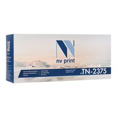 Картридж лазерный BROTHER (TN2375) HL-L2300/<wbr/>2340/<wbr/>DCP-L2500, ресурс 2600 стр., NV PRINT, совместимый