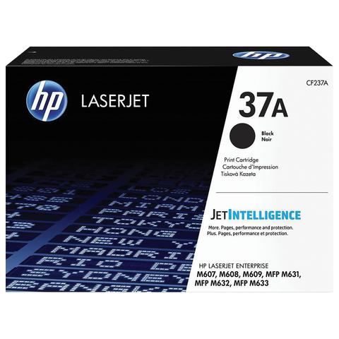 Картридж лазерный HP (CF237A) LaserJet Enterprise M607/M608/M609/M631, №37A, оригинальный, ресурс 11000 стр.
