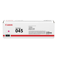 Картридж лазерный CANON (045M) MF635/<wbr/>633/<wbr/>631/<wbr/>LBP 611/<wbr/>613, пурпурный, ресурс 1300 стр., оригинальный
