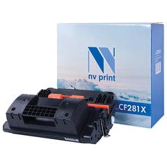Картридж лазерный NV PRINT (NV-CF281X) для HP LaserJet M605/<wbr/>M606/<wbr/>M630 и другие, ресурс 25000 стр.